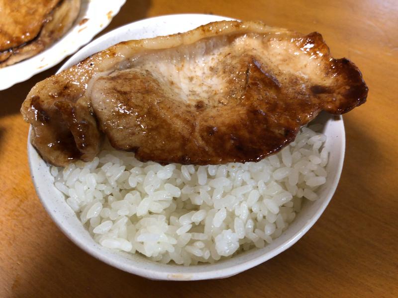 豚生姜焼きご飯2020/06/14