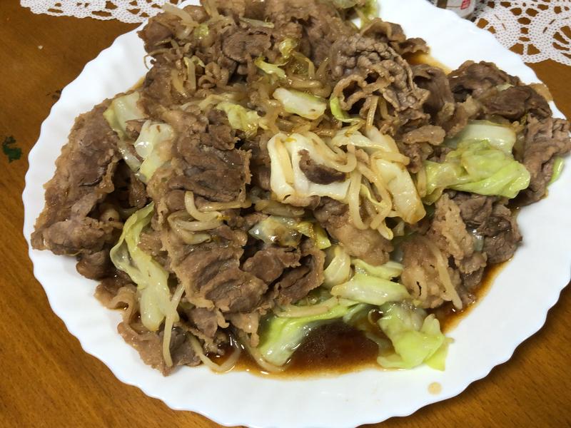 肉野菜炒め2020/07/13