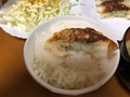 チルド餃子ご飯2020/10/05