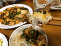 麻婆豆腐掬う2021/2/25