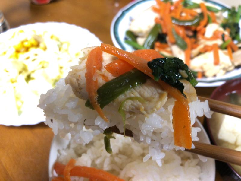 野菜炒め箸2021/3/11