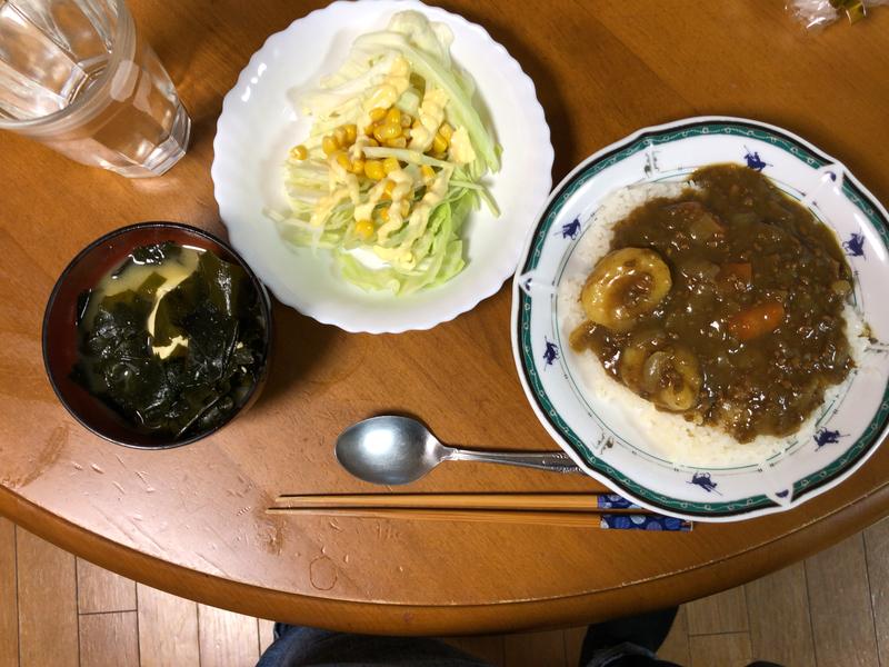 夕食一覧2018/4/12