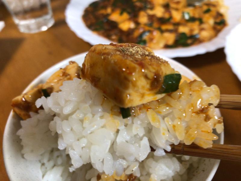 麻婆豆腐箸2021/7/2