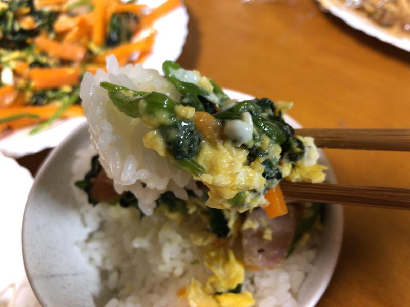 野菜炒め箸2021/9/8