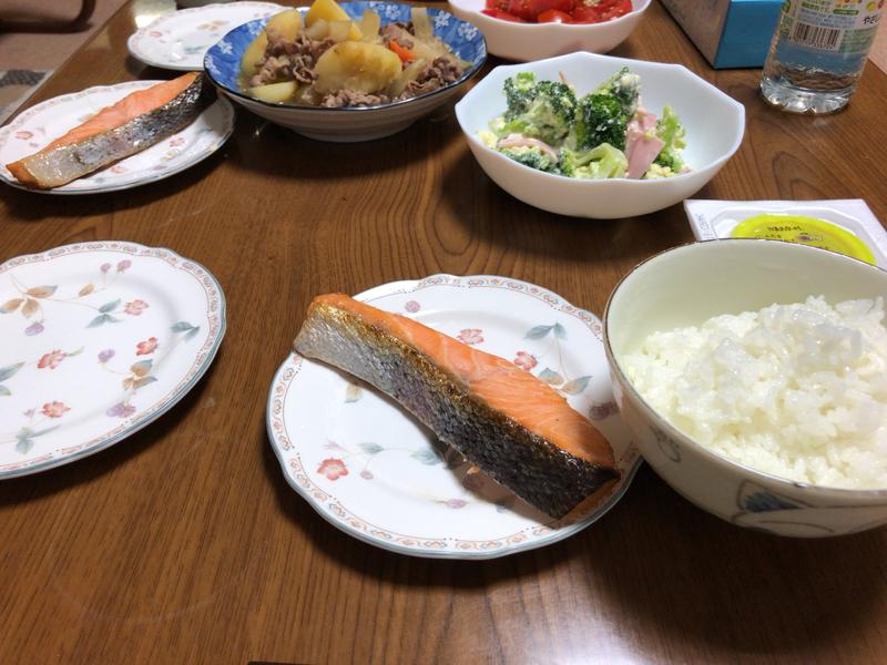 夕食一覧2021/10/12