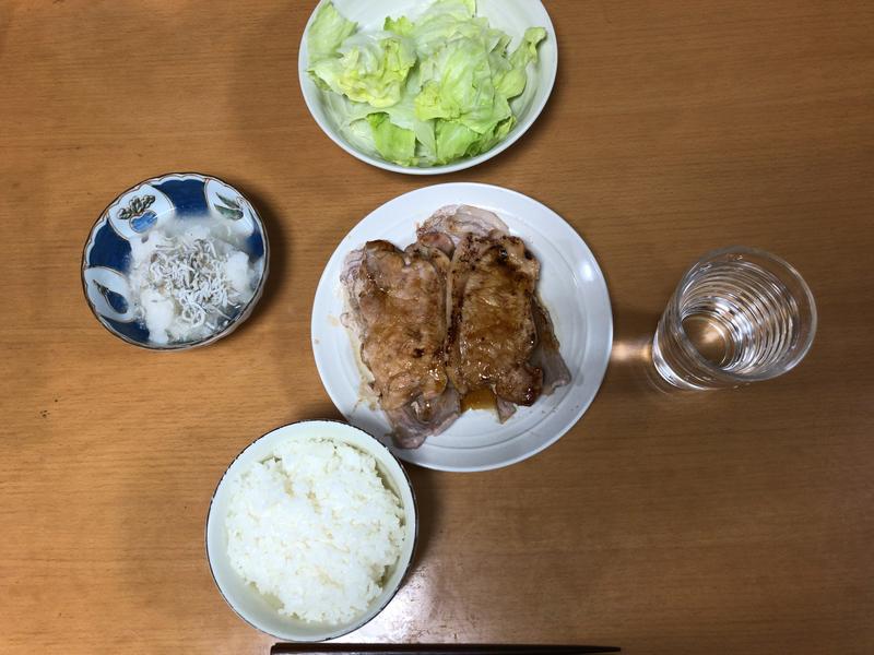 夕食一覧2021/10/14
