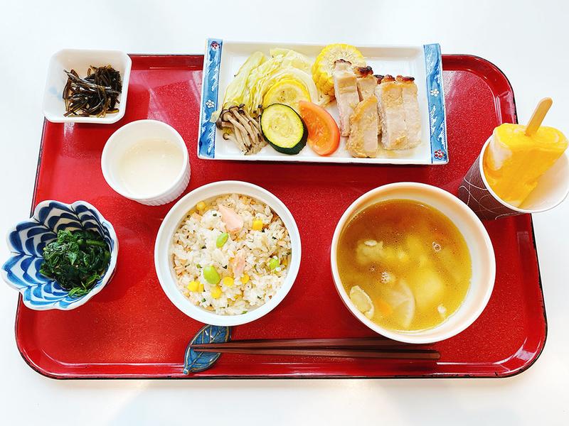 枝豆と鮭の炊き込みご飯02