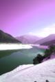 京都新聞写真コンテスト「泳源寺ダムの冬」