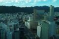 [風景]市役所展望ロビーから 山側