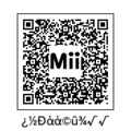 謎の文字を使ったMiiのQRコード?なのか?………