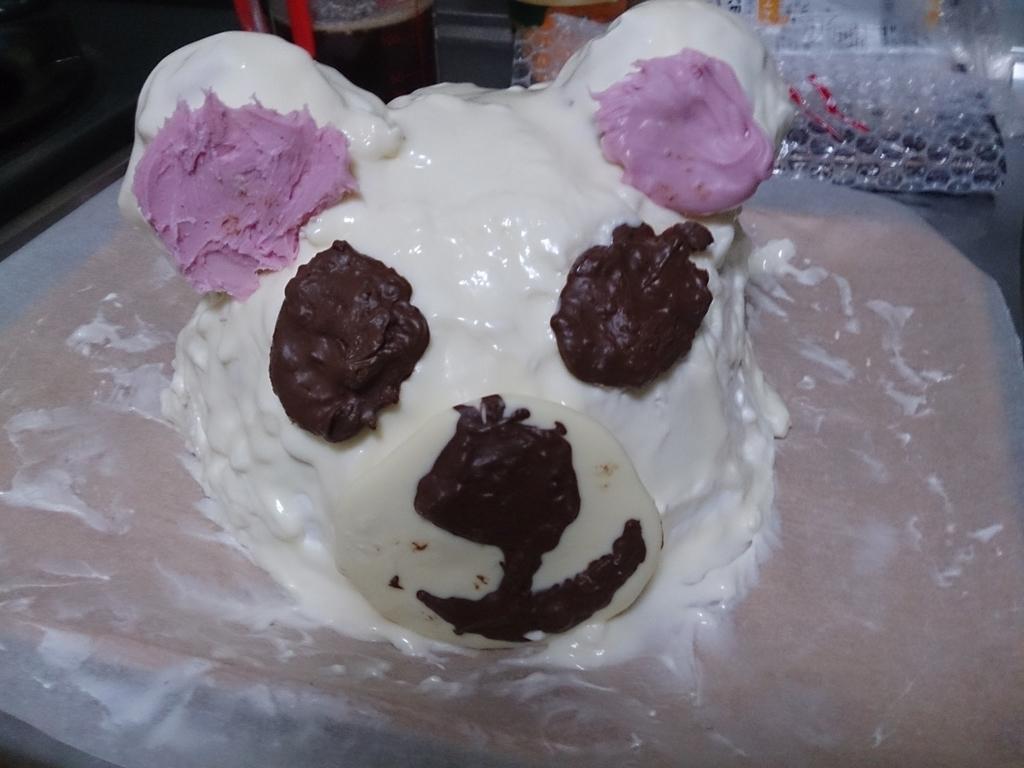 こりらっくまケーキ1