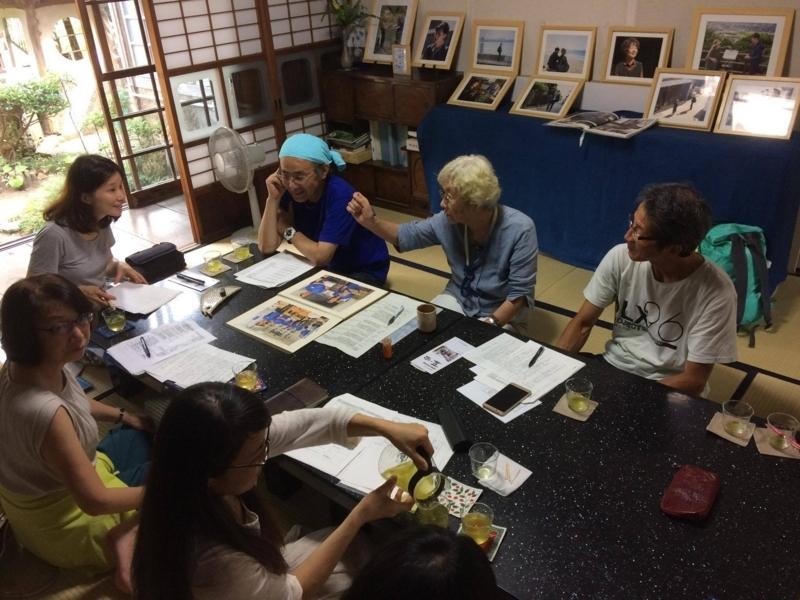 【藍の家】柴田富美子さんから、津屋崎、藍の家のお話を伺う