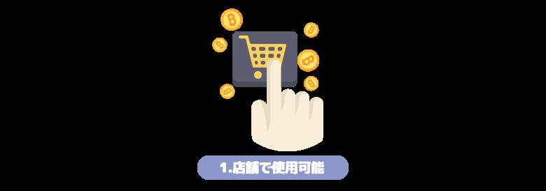 仮想通貨 ショッピング