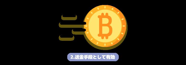 仮想通貨 送金