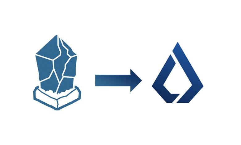 仮想通貨リスクのロゴ変更