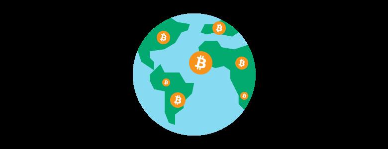 ビットコインは世界中で使える電子マネーのようなもの