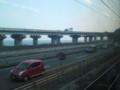[鉄道・関東]東名由比PA付近の東名&R1