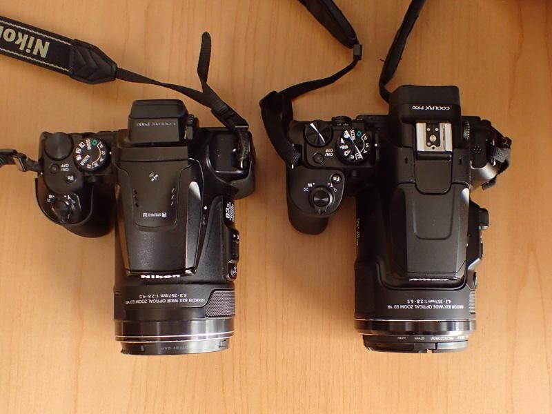 COOLPIX P950 vs P900