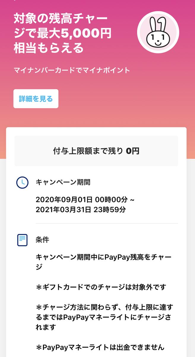 PayPayマイナポイント