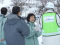 高橋知事と小樽建設協会・吉本会長(写真右)