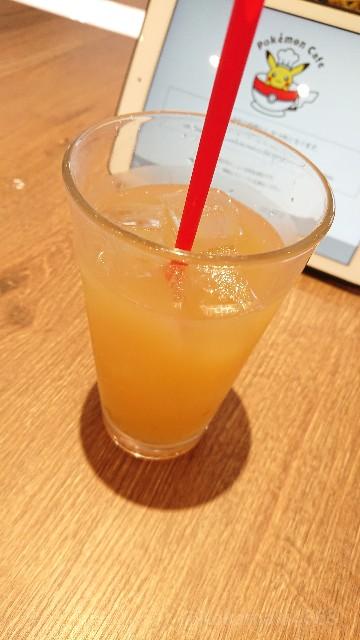 アップルジュースの写真