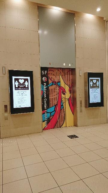 エレベータードアの写真(ミロカロス)