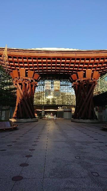 金沢駅前の写真