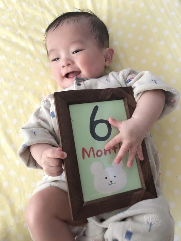 【生後6か月】かわいい赤ちゃん