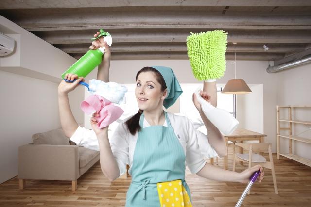 【夫手伝い家事】掃除