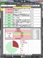E1甲 Excel 記録