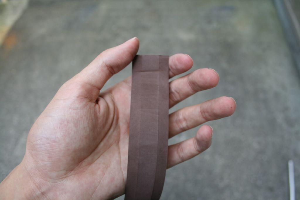 バーテープの表側