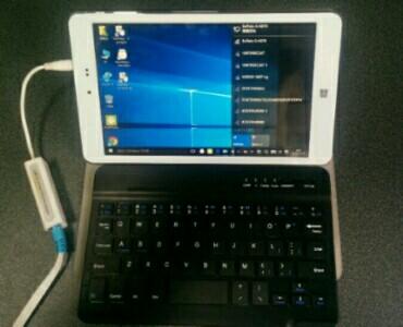 タブレットchuwi Hi8を有線LAN接続