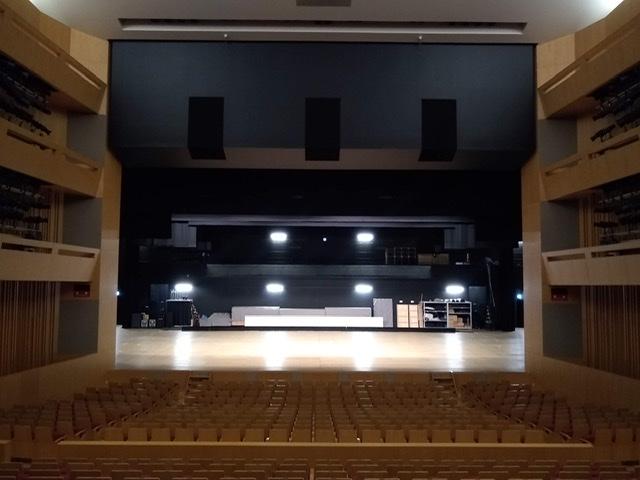 静岡市清水文化会館 マリナート 客席 ホール 舞台