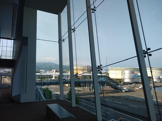静岡市清水文化会館 マリナート 展望 ホール 清水港