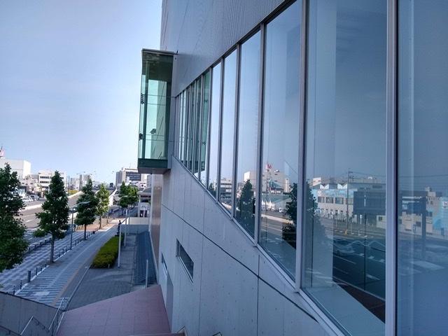 静岡市清水文化会館 マリナート 展望 外観