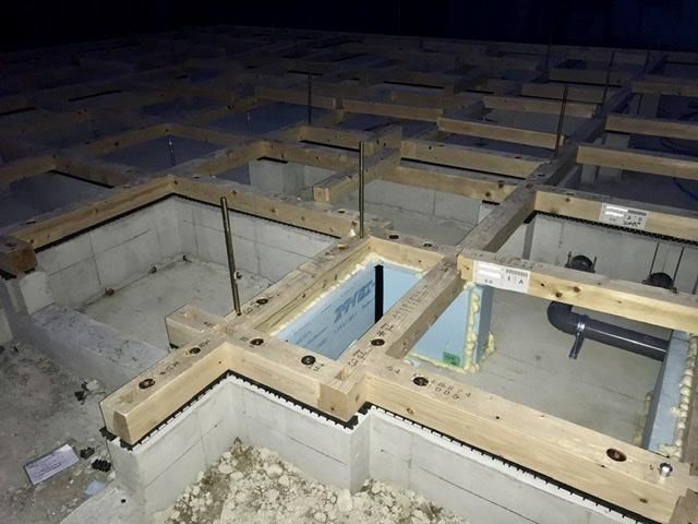 木造 3階 2世帯 検査 土台 大引き 基礎
