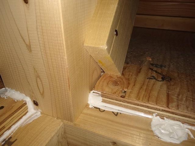 木造 3階 2世帯 気密 シール 施工不良 隙間 欠陥