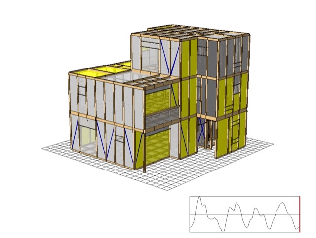 wallstat 極希地震 解析 無事 耐震等級