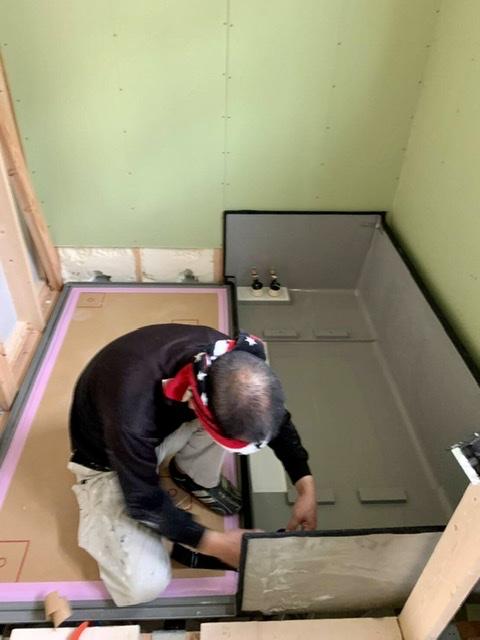 風呂 ユニットバス 浴室 設置 組み立て クリナップ ユアシス