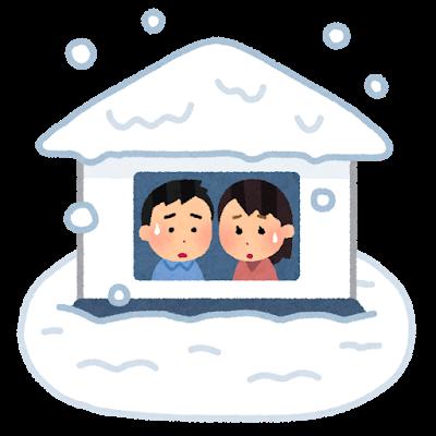 家 屋根 雪