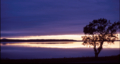 クッチャロ湖の夕映え
