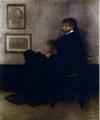 「灰色と黒のアレンジメント No.2 :トーマス・カーライルの肖像」