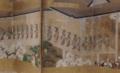 《歌舞伎遊楽図屏風》部分