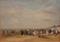 ウジェーヌ・ブーダン《トルーヴィルの浜》