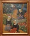 ポール・セリュジエ《森の中の4人のブルターニュの少女》