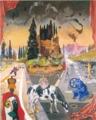 横尾忠則《文明と文化の衝突》2007