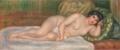 《横たわる裸婦(ガブリエル)》ルノワール