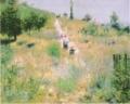 《草原の坂道》ルノワール