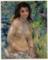 《陽光の中の裸婦》ルノワール