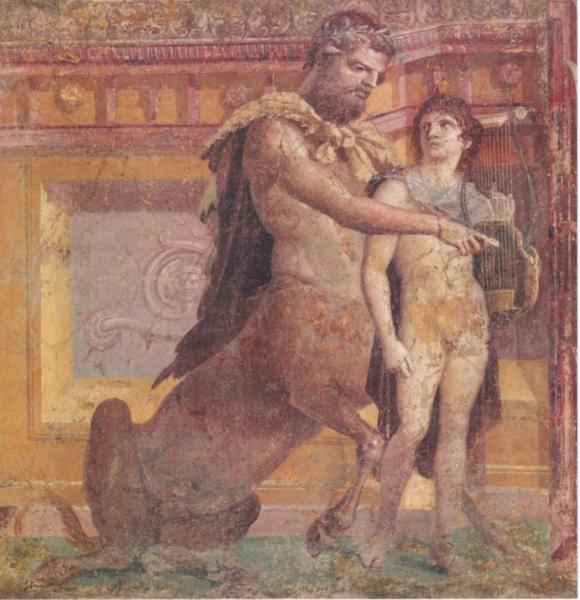 《ケイロンによるアキレウスの教育》